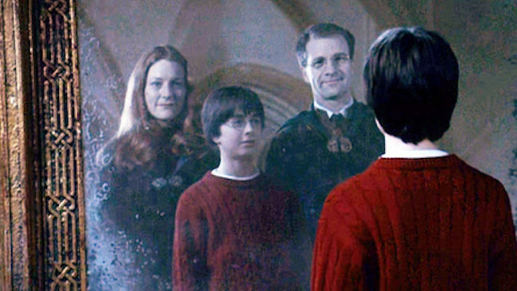 Potter Family - Harry Potter - Mobile Wallpaper #803773 ...  Lily And James Potter In The Mirror